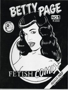 Bettie Page comic